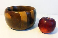 Vintage Danish Mid Century Modern Wooden Bowl  Small / Medium