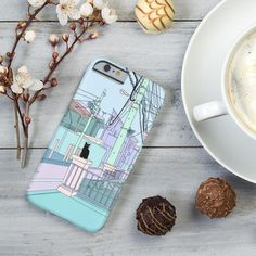 """Cat illustration Design  Phone Case Mobile Phone Case Cover for Apple iPhone ,Samsung Galaxy and Various Model ✔£4.99 ✔ Free UK Next Day Delivery ✔Worldwide Shipping  use Discount Code """"pinterest123""""to get 10% off at checkout"""