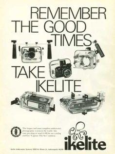 Ikelite Ad, Dive History