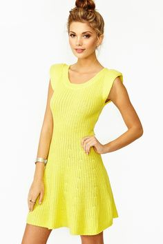 Poison Knit Dress