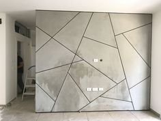 Tv wall panel design for geometric Tv wall panel design for geometric The post Tv wall panel design for geometric & Гіпсокартон appeared first on Geometric paint . Wood Wall Design, Wall Panel Design, Metal Wall Decor, Basement Wall Panels, Concrete Wall Panels, Concrete Ceiling, Bedroom Wall Designs, Living Room Designs, Tv Wand Design