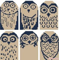 Knitting charts socks cross stitch 56 ideas Best Picture For handschuhe sitricken fair isle For Your Owl Knitting Pattern, Mittens Pattern, Knit Mittens, Knitting Designs, Knitting Projects, Knitting Socks, Knitting Club, Fair Isle Knitting, Knitting Charts