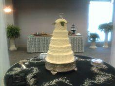 """""""Boyd - Roe"""" Wedding cake"""