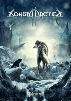 Sonata Arctica - Kovakantinen (9789522990075) - Kirjat - CDON.COM Thrash Metal, Hard Rock, Heavy Metal Rock, Metal Sinfónico, Metal Art, Power Metal Bands, Metal Band Logos, Viking Metal, Wolf