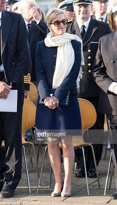 Sophie, Countess of Wessex attends Bicentenary Celebrations of The Royal Yacht Squadron on June 5, 2015 in Cowes, England.