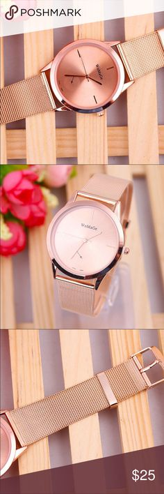Rose Gold Women's Watch Display: Analog Movement: Quartz Material: Stainless Steel ✨READY TO SHIP✨ Accessories Watches