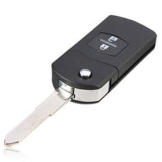 Morning May 2 Button Remote Control Key Shell Case for Cobra Alarm Fob without Battery Black