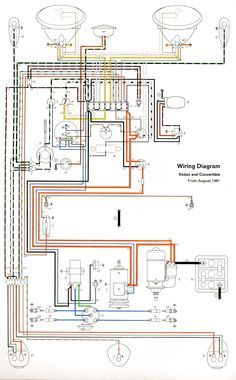Electrical Wiring Diagrams    Beetle 1971 Electrical Wiring Diagram   All about Wiring