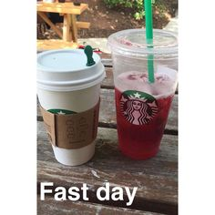 Sometimes you need double Starbucks on fast day
