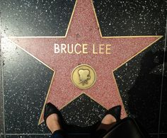 This is my favourite star at Hollywood Boulevard #BruceLee #LA