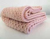 crocheted blanket etsy