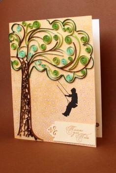 Квиллинг открытки: идеи для вдохновления