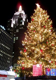 Christmas in Detroit..... Kasey Benson when we come visit you one day for Christmas you must take me here!!