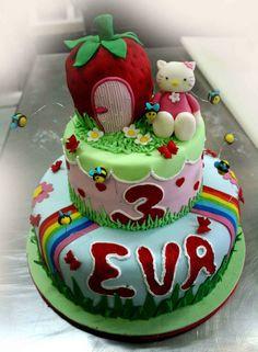 Hello Kitty Torte Artistiche per qualsiasi evento della pasticceria La Mimosa di http://www.simocakedesigner.it