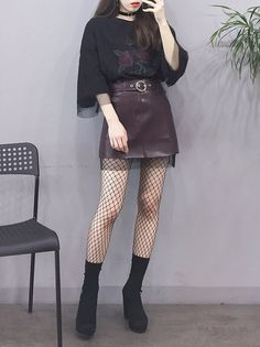 Pin by Erline Miclisse on K-Fashion in 2019 Korean Fashion Trends, Korean Street Fashion, Korea Fashion, Asian Fashion, Trendy Fashion, Womens Fashion, Korean Fashion Kpop, Style Fashion, Kawaii Fashion