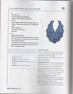 blue curaçao shawl #pattern