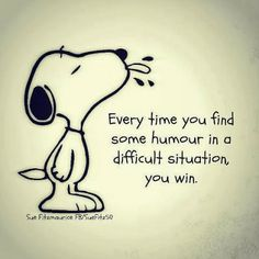Find humour in life and you will have a better life.  #humour #life #quote