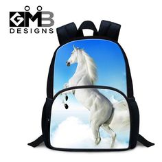 Horse Backpack for Kids Personalized Animal Felt Preschool Back pack Cute Mochilas Fashion Mini Shoulder Bag small bookbag boys School Bags For Kids, Kids Bags, Men's Bags, Horse Backpack, Rucksack Backpack, 3d Dog, Personalized Backpack, Small Backpack, Cool Backpacks