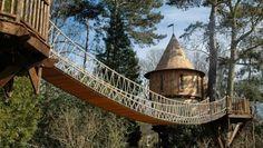 Luxusný dom v korunách stromov. O takom ste vždy snívali!