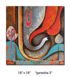 Ganesha 34 Ganesha Drawing, Lord Ganesha Paintings, Ganesha Art, Krishna Painting, Shri Ganesh, Mythology Paintings, Canvas Painting Landscape, Kids Art Class, Logo Gallery