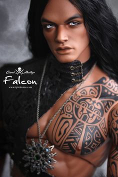 Carved Heritage_Falcon HID 1/3 bjd