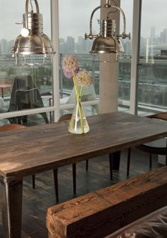 In wont of Rustic Industrial Urban Condo seating