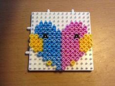 Two birds hama beads by ilhja