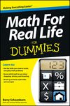 Math For Real Life For Dummies:Book Information - For Dummies