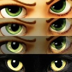 Rapunzel/black cat