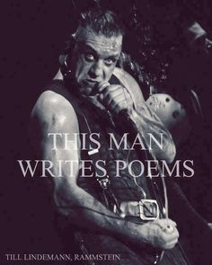 This man writes poems, and they are breath-taking.
