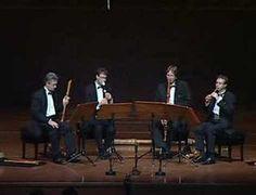 Flanders Recorder Quartet  Merula - Canzona La Lusignuola (fragm.)  recorded live in Taiwan 2006    www.flanders-recorder-quartet.be