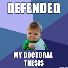 i am now a doctor of theoretical particle physics