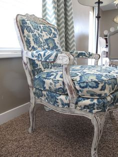 white painted upholstered chairs | Upholstered Chair 2. Beautiful DIY Chair Upholstery Ideas to Inspire