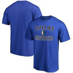 Dallas Mavericks Big & Tall Victory Arch T-Shirt - Blue