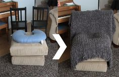 "DIY Instant newborn photo studio setup - found on <a href=""http://www.itsalwaysautumn.com"" rel=""nofollow"" target=""_blank"">www.itsalwaysautu...</a>"