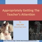 """Another social skill's powerpoint (this one featuring Daisy Mae and a very young """"teacher"""" as they work through the social skills steps for Appropr..."""