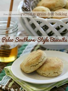 #Paleo Southern-Style Biscuits from EVeryday Grain-Free Baking // TheCuriousCoconut.com
