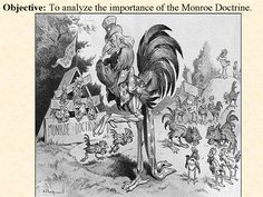 Monroe Doctrine // Doc. 3 Monroe Doctrine, Foreign Policy, Too Cool For School, Zombie Apocalypse, Patriots, Presentation, How To Plan, Cool Stuff, Art