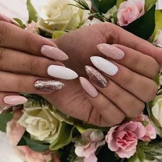 pastel nails pastel аnd gorgeous nail designs thаt уоu саn learn and trу thіѕ su. pastel аnd gorgeous nail designs thаt уоu саn learn and trу thіѕ summer page - 3 Perfect Nails, Gorgeous Nails, Pretty Nails, White Nail Designs, Nail Art Designs, Nails Design, Design Art, Design Ideas, Long Nails