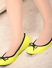 női cipő kerek toe lapos sarkú lakások bownot c... – EUR € 10.04