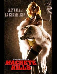 Lady Gaga's Machete Kills movie poster