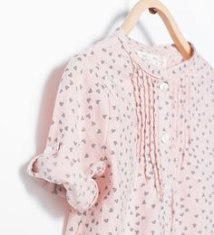 Image 4 of Shirt with Peter Pan collar from Zara