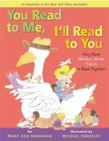 Classic Mother Goose rhymes in color-coded typography let young children read along with an adult.