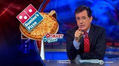 Watch Stephen Colbert Rage Against Domino's Smart Slice