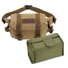 Canvas Vintage Waist Packs DSLR SLR Camera Shoulder Case Bag DSLR SLR For Sony Canon Nikon Olympus * Details can be found by clicking on the image.