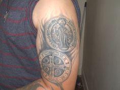 st benedict tattoo - Google Search