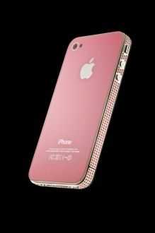 Swarovski Iphone 4 pink