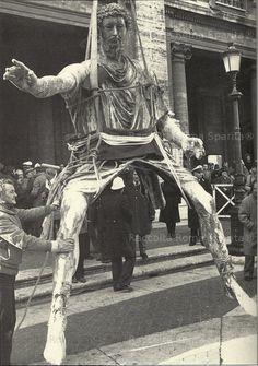 Roma Sparita - Campidoglio - Marco Aurelio