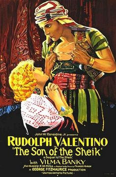"""""""The Wind and the Lion"""" is in the same tradition as the famous 'Sheikh' movies of the 1920s, and quite deliberately casts Connery in the Valentino mould. """"Son of the Sheikh"""" was released a couple of weeks after Valentino's death."""