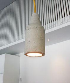 Keittiön saarekkeen tee-se-itse-betonivalaisimet | Asuntomessut